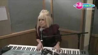 HD Lady GaGa - Eh Eh(Nothing Else Can Say) (Acoustic) Live Piano