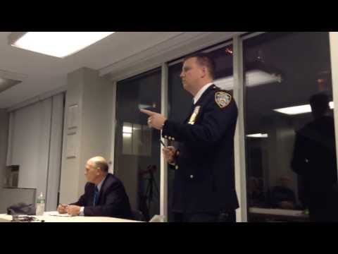 Roosevelt Island Public Safety Director & NYPD 114 Precinct Commander Meeting