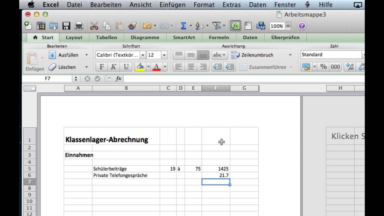 Funky Budget Tabellenkalkulation Excel Motif - FORTSETZUNG ...