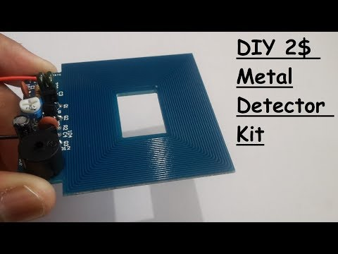 DIY Metal Detector Kit For 2$