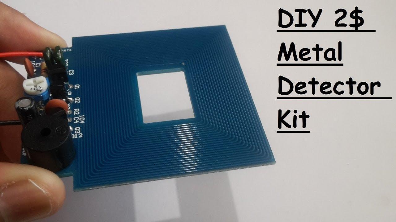 Diy Metal Detector Kit For 2 Youtube