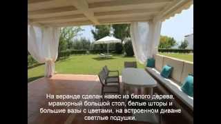 Аренда коттеджа. Халкидики, Кассандра, Ханиоти(Новый прекрасно оборудованный семейный коттедж с 2-мя спальнями расположен всего в 50 метрах от моря с больш..., 2015-04-16T09:46:38.000Z)