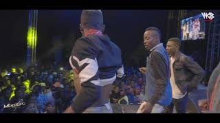 Mbosso Live perfomance Nimekuzoea Moshi Wasafi festival 2019