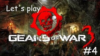 50 CENT IS HERE|Let's play Gears of War 3 episode 4