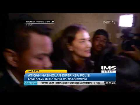 Aktris Atiqah Hasiholan Diperiksa Polisi Mengenai Kasus Hoaks Ratna Sarumpaet   IMS Mp3