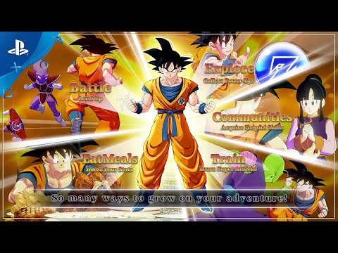 dragon-ball-z:-kakarot---character-progression-trailer-|-ps4
