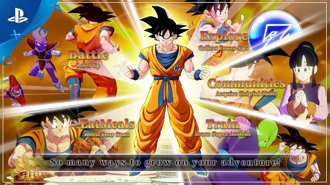 Dragon Ball Z: Kakarot: +32 entraîneur