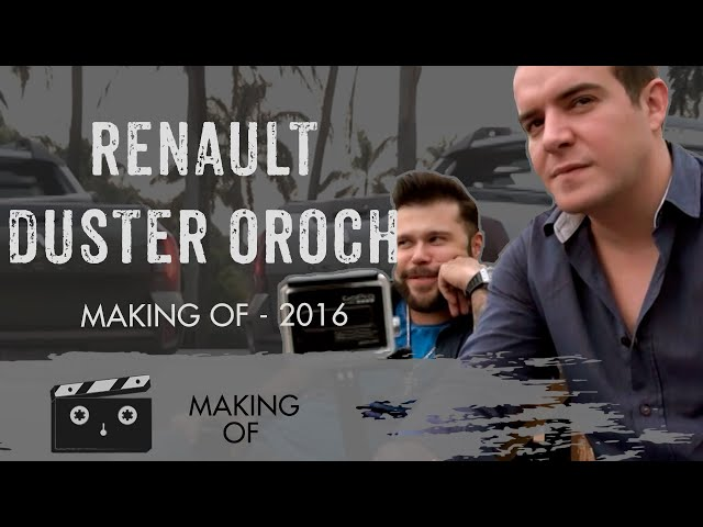 Renaul Duster Oroch - Making Of