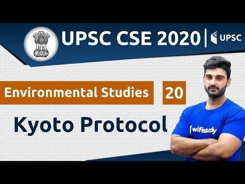12:00 PM - UPSC CSE 2020   Environmental Studies by Sumit Sir   Kyoto Protocol