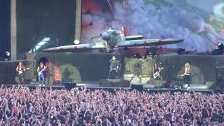 Iron Maiden @ Wanda Metropolitano - Madrid - Aces High - 14/07/2018