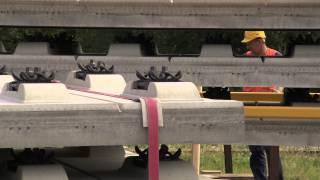 Bahnprojekt Karlsruhe-Basel: Feste Fahrbahn (Full HD)