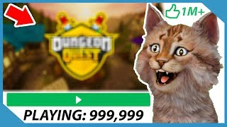 World's Most Popular Roblox Game! (Dungeon Quest)