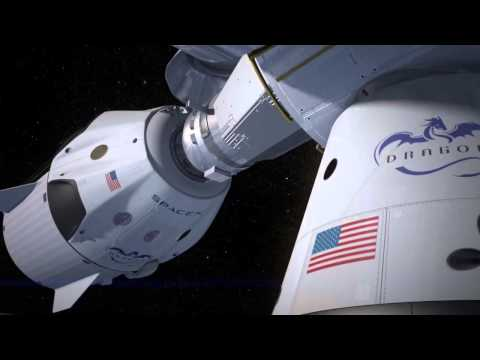How SpaceX Dragon's Taxi to ISS will Self-Land | Animation
