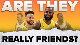 Are LeBron and Steph REALLY friends? 🤔 | #shorts