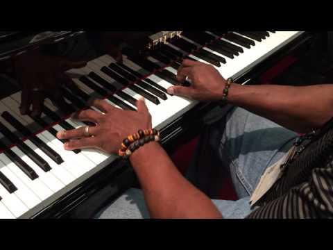 NAMM 2016 Glen Stewart at Seiler pianos