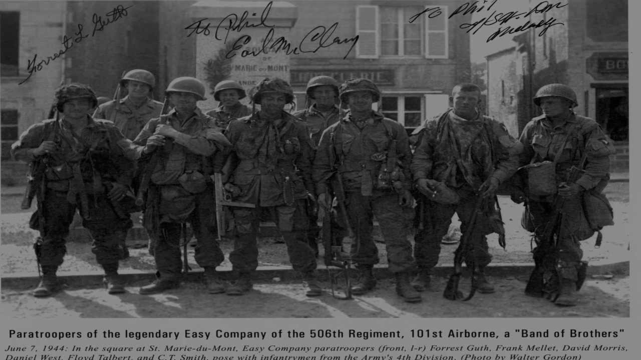 A day in Bastogne Band...