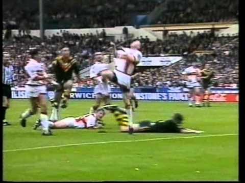 England V Australia - 1995 Rugby League World Cup