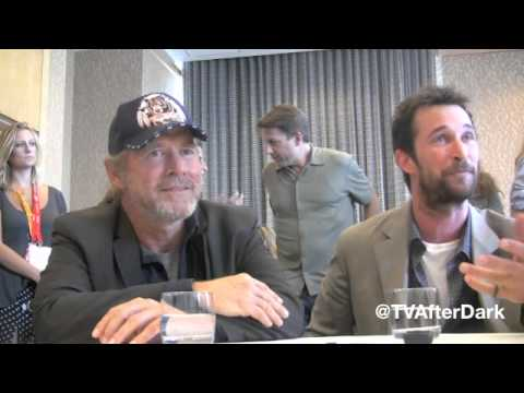 Will Patton and Noah Wyle Interview at Comic-Con 2012 with TV After Dark
