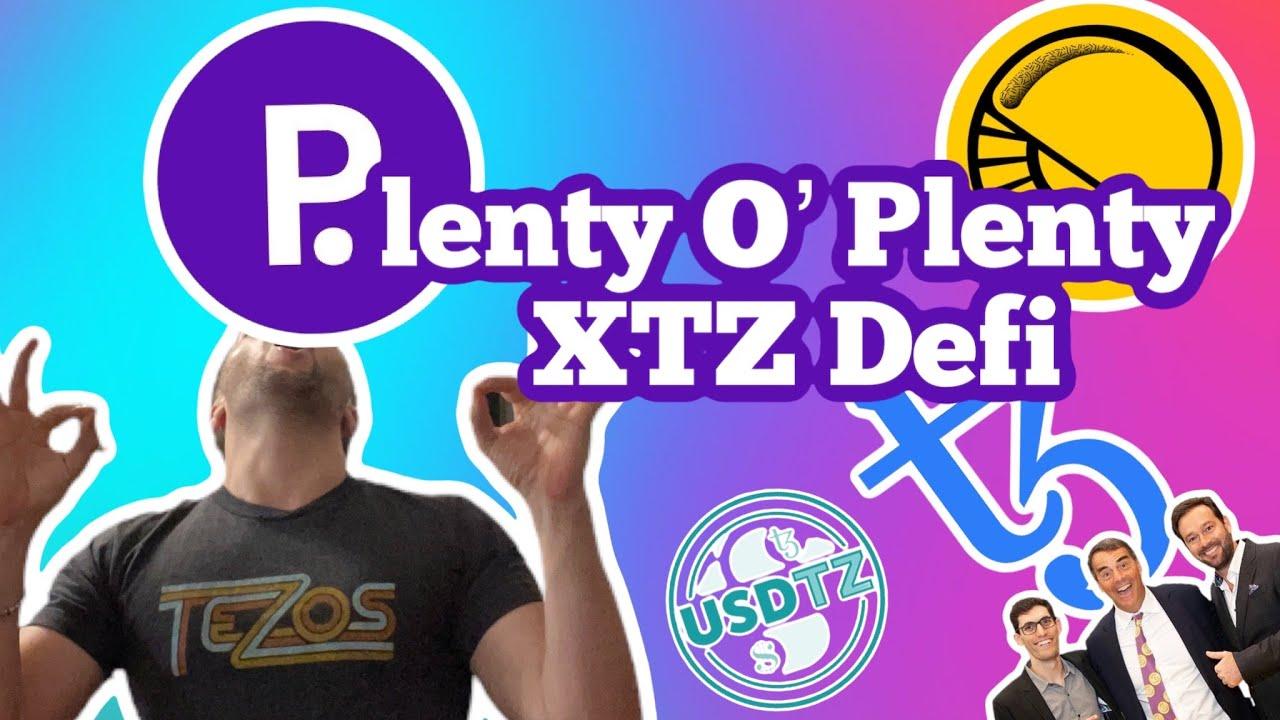 Best Defi Coins 2021: Plenty Defi on XTZ Tezos AMM release