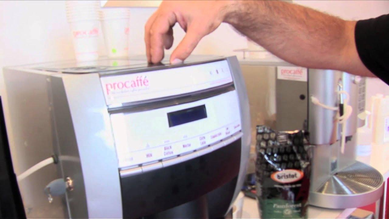 how to use coffee machine