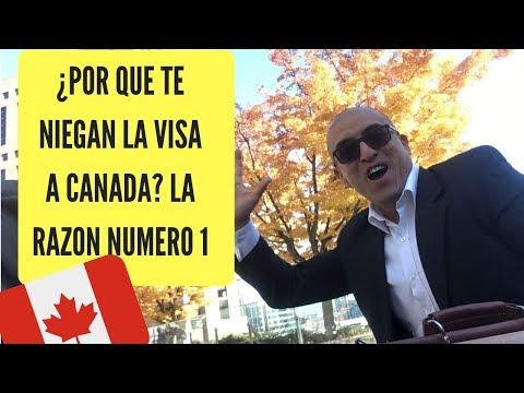 CANADA: POR QUE TE NIEGAN LA VISA?