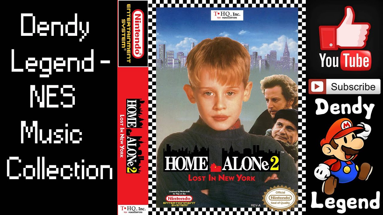 Home Alone 2 Lost in New York NES Music Song Soundtrack FULL