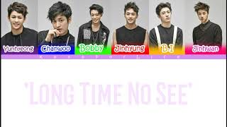 Mix & Match 'long Time No See' Color Coded Lyrics  Han rom eng