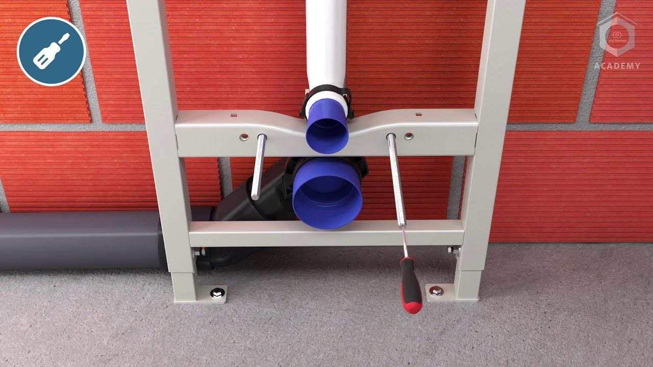 Sanitari Scala Ideal Standard isi academy – installation of prosys™ wc frame 120 m