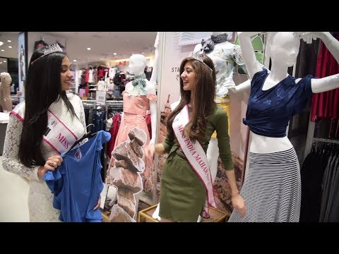 Miss India West 2018 winners visit fbb store in Pune