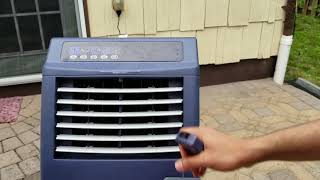 Honeywell CO301PC 823 CFM Indoor/Outdoor Portable Evaporative Air Cool