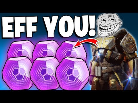 Destiny 2 - It's Official - Lord Saladin Effing Hates Me.. Massive Iron Banner Package Opening!