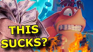 Activision is FORCING Microtransactions in Crash Bandicoot 4!