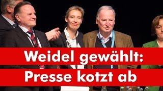 AfD wählt Weidel - Presse kotzt ab