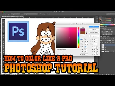 How To Color Like A Pro- Adobe Photoshop For Beginners