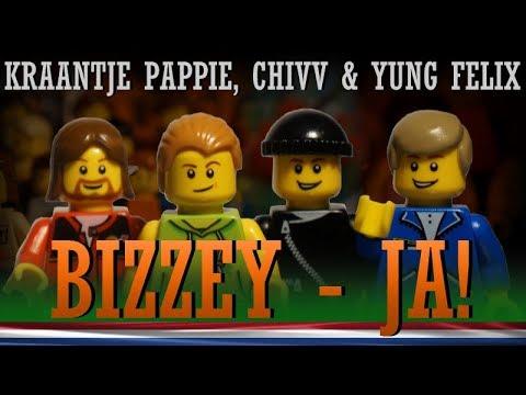 Bizzey - JA! ft Kraantje Pappie, Chivv, Yung Felix (LEGO music video)