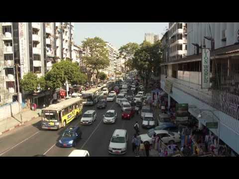 Trip to Myanmar, 2014 Part I in Full HD, Yangon, HEHO. Inle Lake