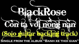 Còn ta với nồng nàn Guitar solo backing track (rock version)