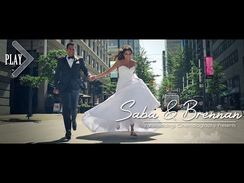 Glamorous Persian Wedding at Vancouver Club - Saba & Brennan