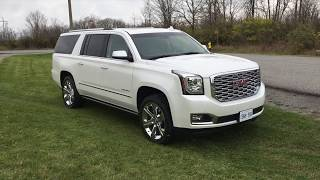 2018 GMC Yukon XL Denali Overview