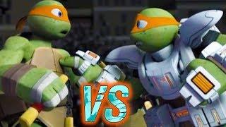 Nick Ninja Turtles, Usagi Yojimbo VS Space Turtles, Armaggon in SPACE ODDITY. TMNT Legends
