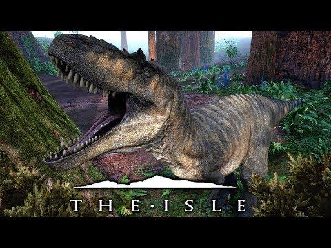 The Isle - Der Albertosaurus, neue Redwood Map & kämpfen um zu leben! | LP The Isle Deutsch