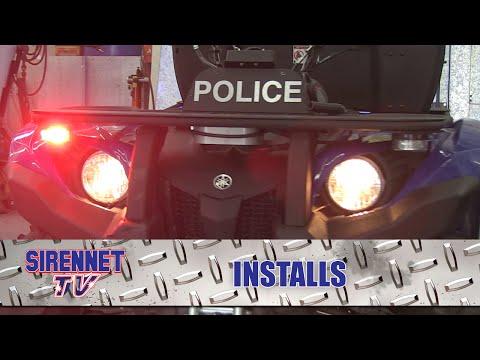 Police Search And Rescue ATV Installation