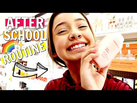My after school night Routine  2018  What girls do after school 👧‎️‍🌈