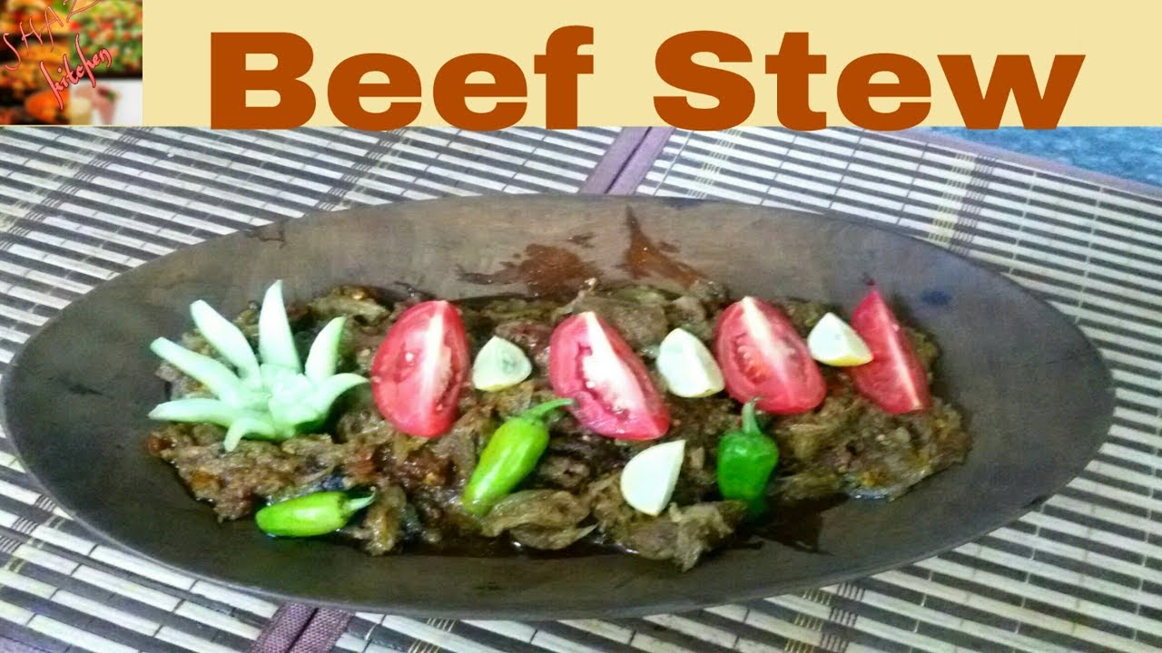 Beef Stew Recipe Restaurant Style Beef Stew Recipe In Urdu By Shaz Kitchen Youtube