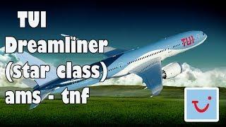 Vliegen met TUI Dreamliner (Star Class) van Amsterdam naar Tenerife - Baking 4 Fun