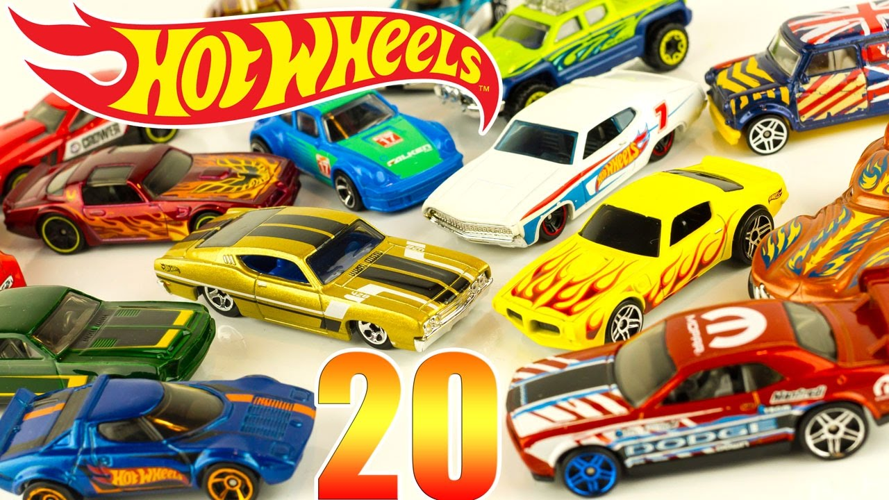 hot wheels die cast cars 20 pack gift set toy unboxing review juguetes - Voitures Hot Wheels