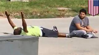 Police shooting: Miami cops shoot unarmed therapist trying to calm autistic patient - TomoNews