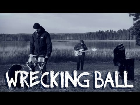 Miley Cyrus - Wrecking Ball (Cover by Twenty One Two)
