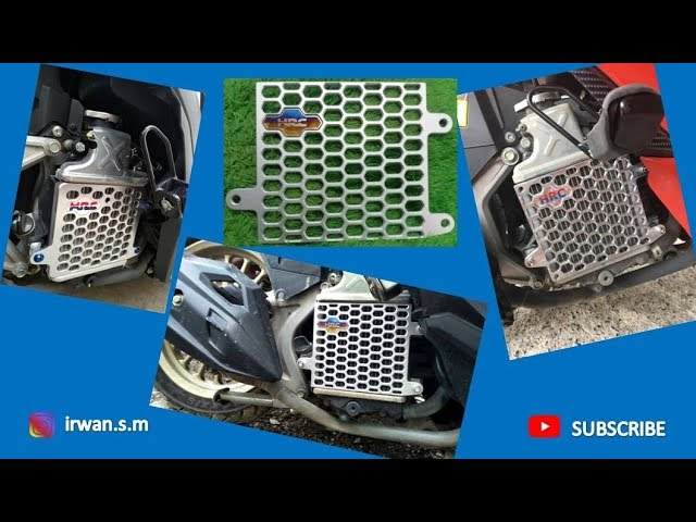 Cover Radiator Mehong Vario 150, Modif Nguras Dompet...