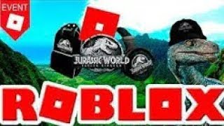 How to get 4 items from Jurasic World!! Roblox